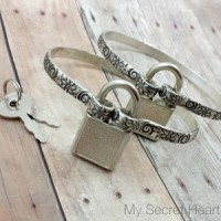 Wildflower Cuffs - with locks 2